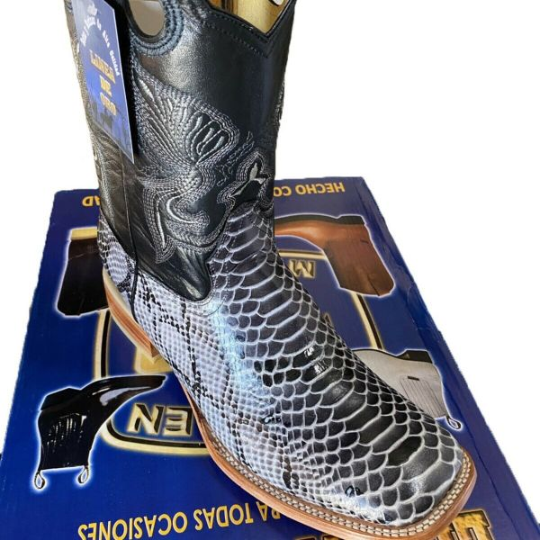 Men's Python Snake Boots