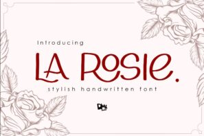 La Rosie - Stylish Handwritting Font