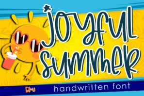 Joyfull Summer - Handwritten Font