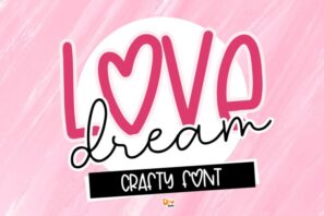 Love Dream - Crafty Font