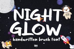 Night Glow - Handwritten Font