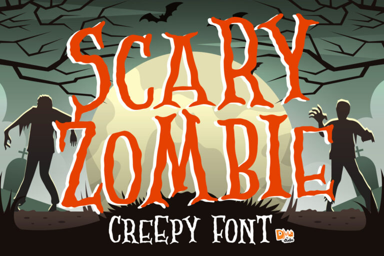 Preview image of Scary Zombie – Spooky Font