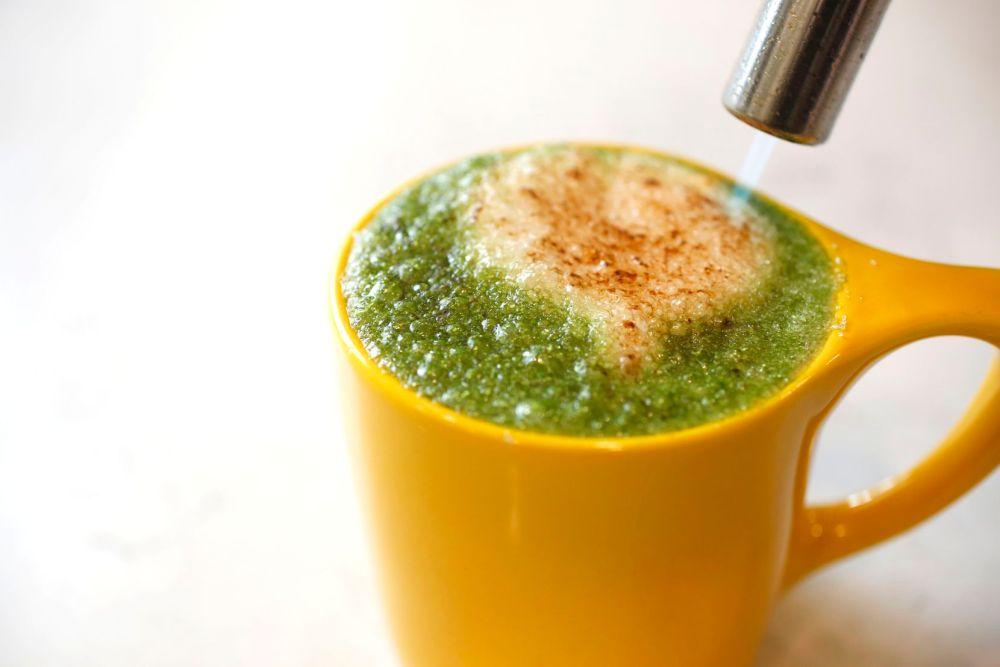 La La Land Kind Cafe serves an extensive list of matcha drinks.