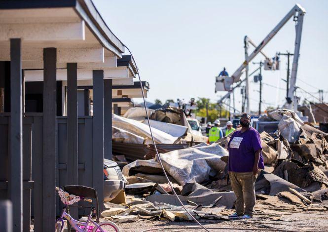 3 Days After Tornado Destroyed Their