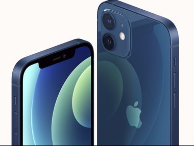 Apple took the wraps off its new iPhone 12 equipped with technology for use with faster new 5G wireless networks at an event Tuesday.
