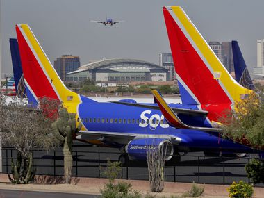 Southwest Airlines, which has never laid off or furloughed employees, avoided worker cuts by getting more than a quarter of its workforce to take voluntary leave and retirement, grounding planes and drastically cutting its schedule.