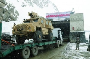 DLA shipments through the Salang Pass
