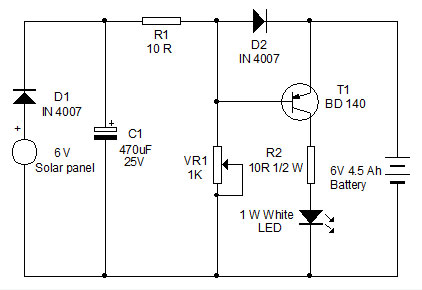 USING CFL CIRCUIT FOR LED