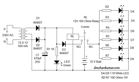 500 Watt Led Light 42 Watt LED Light Wiring Diagram ~ Odicis