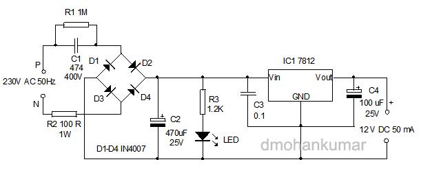Drawbacks of Transformerless power supply