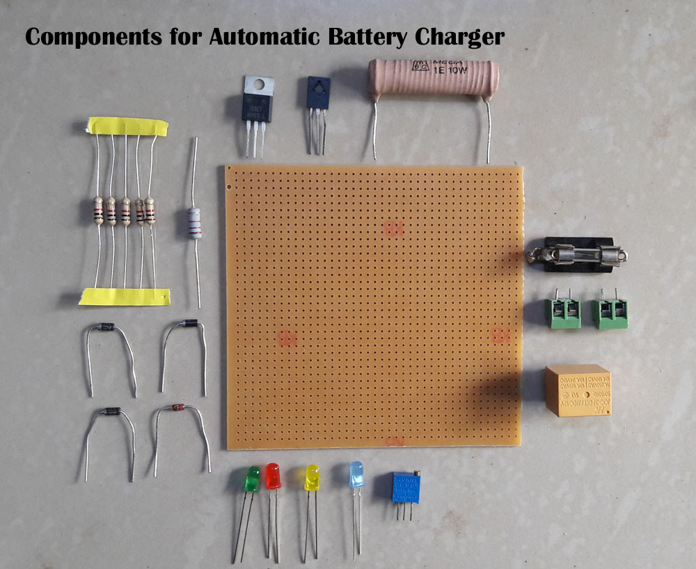 Fast Charger Circuit D Mohankumar Battery Chargers Lm338