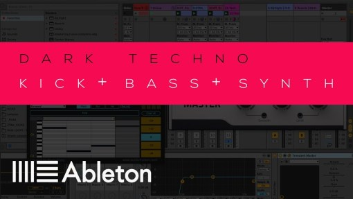 Ableton Live 10 Project Techno Template / kick+bass+synth - Download Tutorial 5