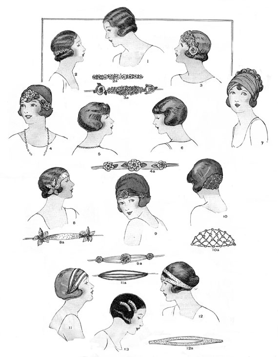 Authentic 1920's Hair and Makeup how to or flapper hair