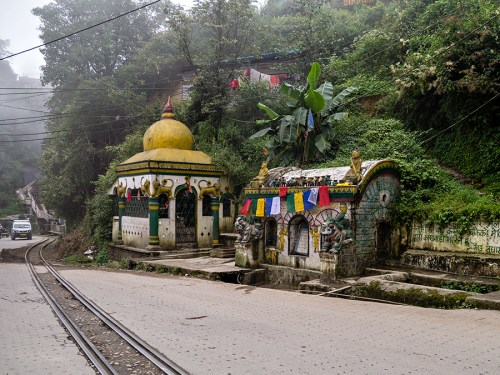 On the main road from Ghum down to Darjeeling