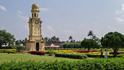 clock tower, hazarduari, west bengal