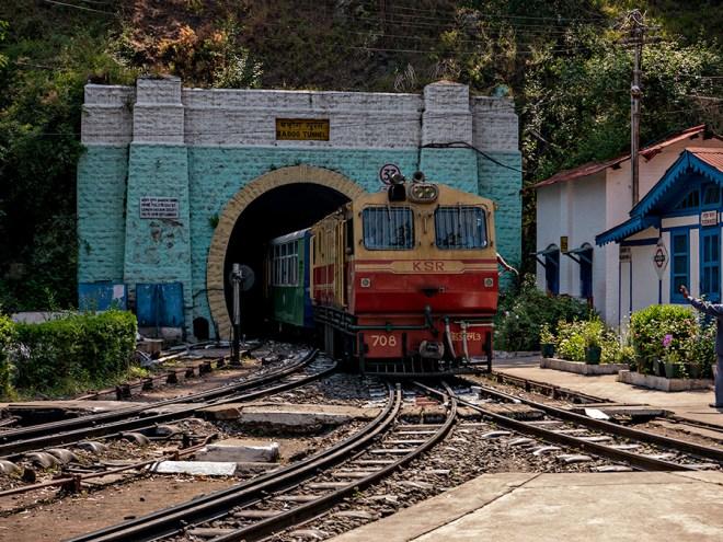 The train to take me back up to Shimla