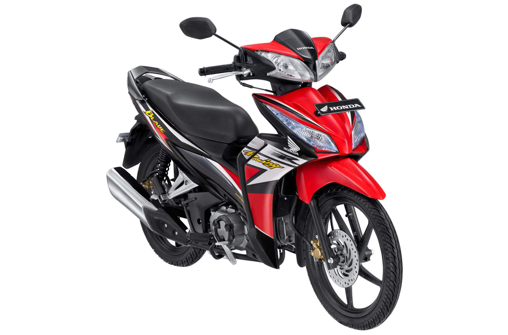 hight resolution of new honda blade r red
