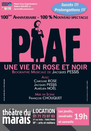 Piaf flyer