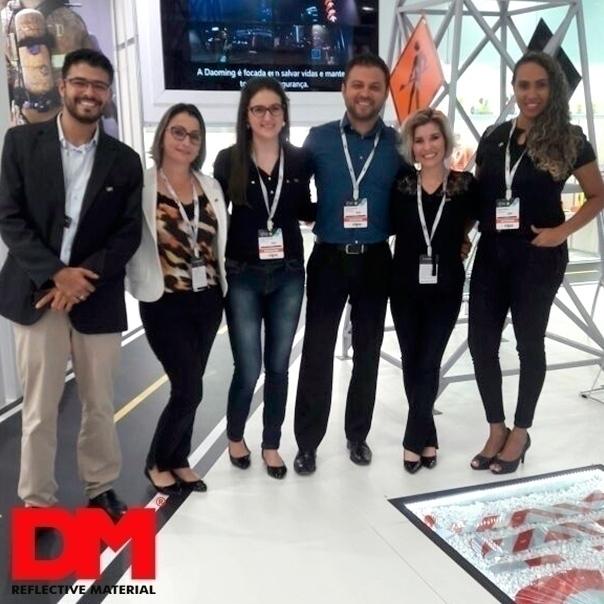 Equipe DM na Feira Fisp 2016