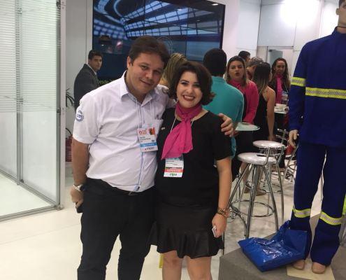 Diego (WW Uniformes) e Andrieli