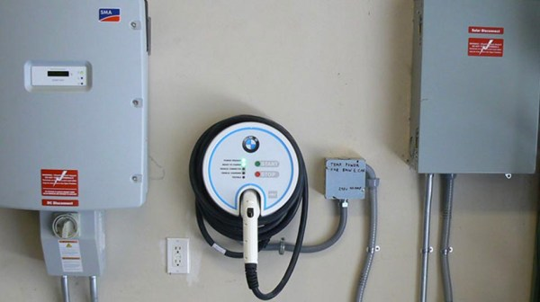 ev charger installed at Concord Residence by DMR Electric