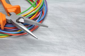 Image of wires and tool used by an orinda electrician