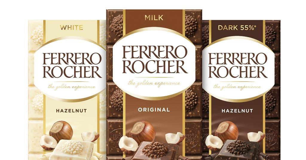 Ferrero Rocher to make debut in chocolate bars | News | The Grocer