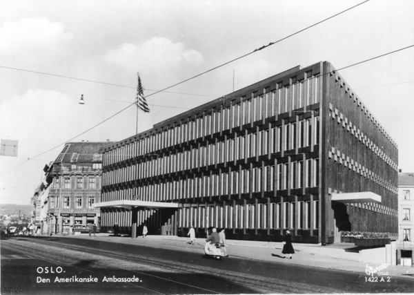 Oslo Den Amerikanske Ambassade Oslo Byarkiv