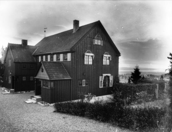 Hans Halvorsens Villa Oslo Museum Digitaltmuseum