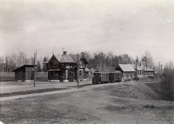 Slemdal Stasjon Stasjonsbygning Trikk Oslo Museum