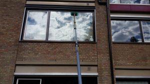 Glasbewassing glazen wassen