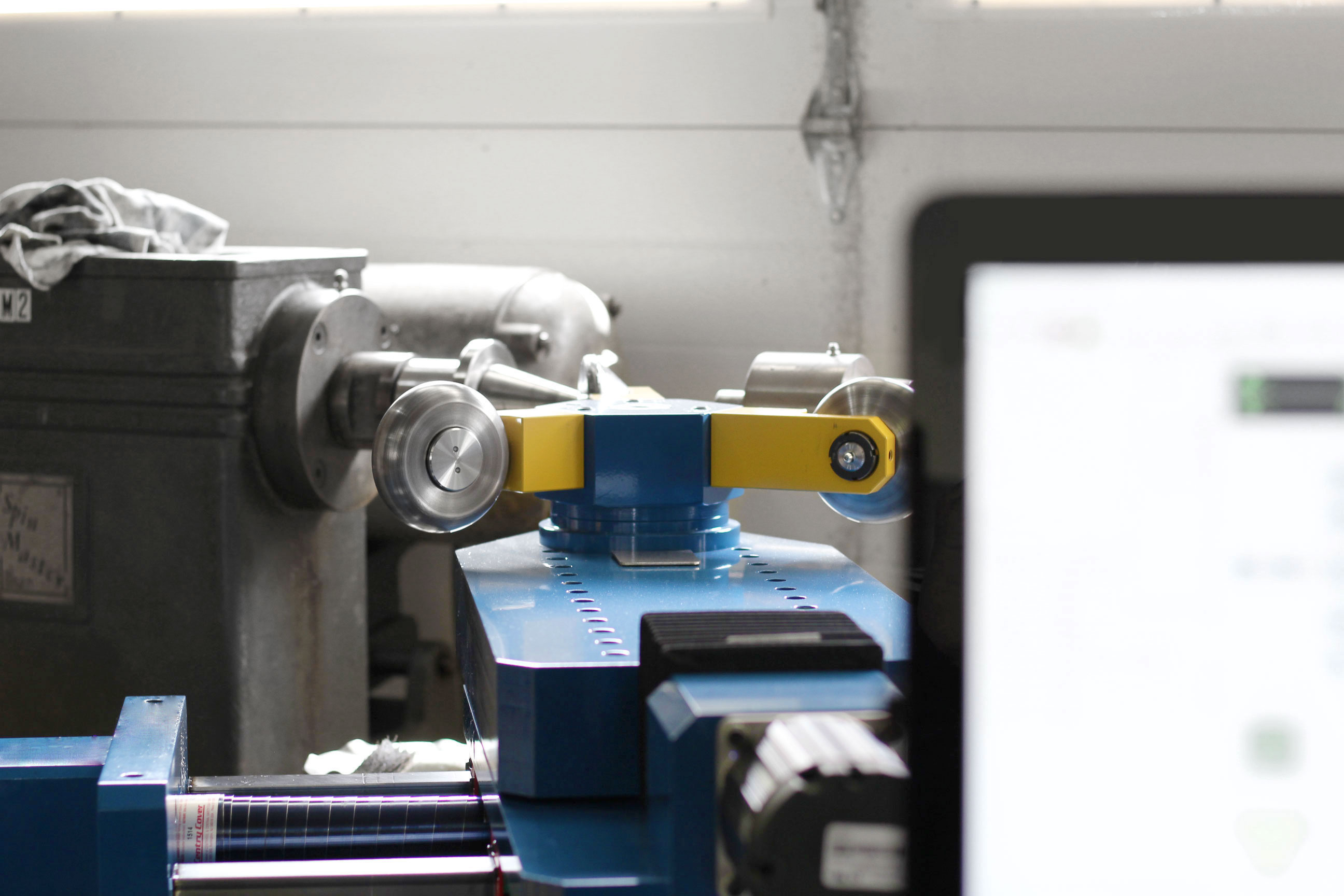 Repair hand spinning lathe rebuild CNC