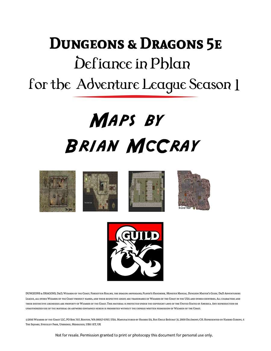 Defiance In Phlan : defiance, phlan, Defiance, Phlan, Dungeon, Masters, Guild