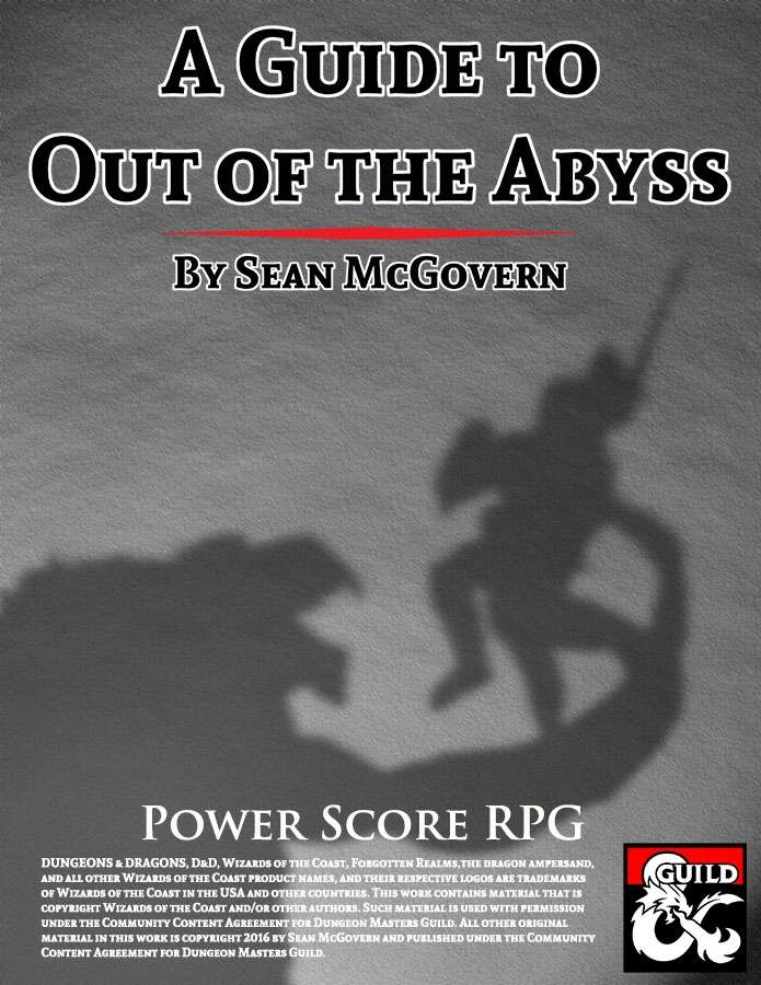 Out Of The Abyss Guide : abyss, guide, Guide, Abyss, Dungeon, Masters, Guild