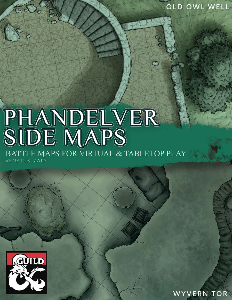 Printable Lost Mines Of Phandelver Maps : printable, mines, phandelver, Phandelver, Dungeon, Masters, Guild