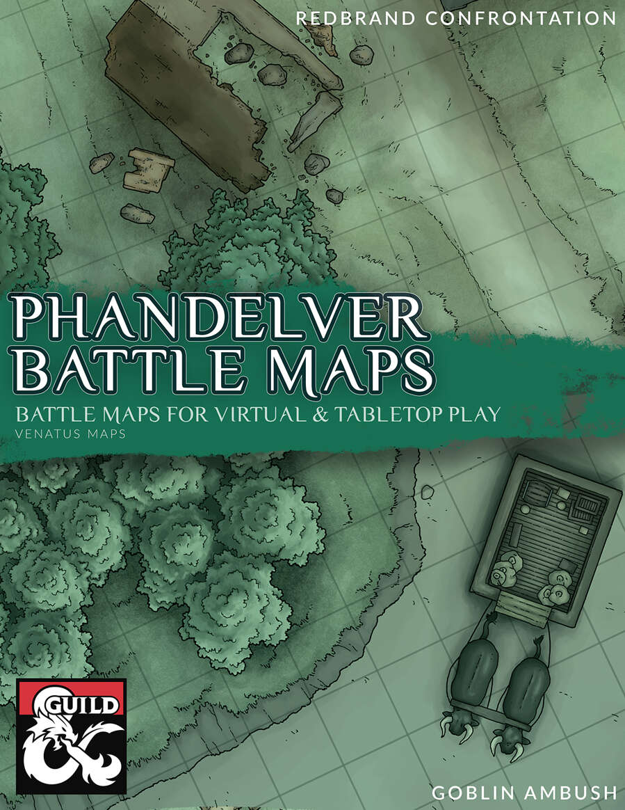 Printable Lost Mines Of Phandelver Maps : printable, mines, phandelver, Phandelver, Battle, Dungeon, Masters, Guild