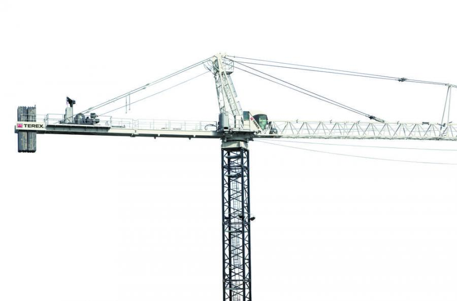 Introducing the Terex SK 452-20 HammerHEAD Tower Crane