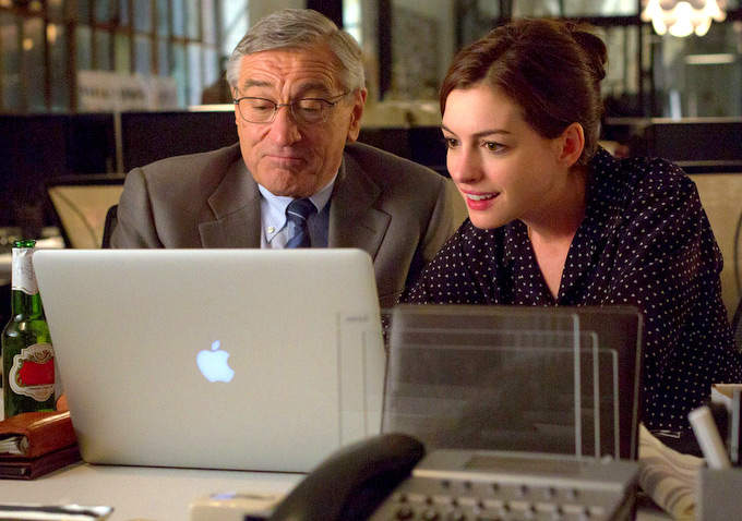 The Intern (2015) Review Robert De Niro and Anne Hathaway