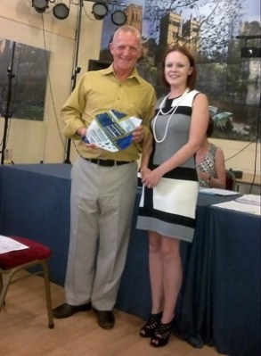 Karen Gallagher - Mary Hamilton Award 2011