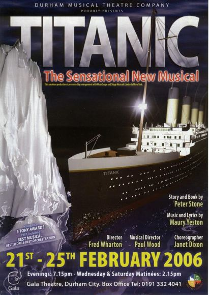 Titantic the Musical (2006) Poster