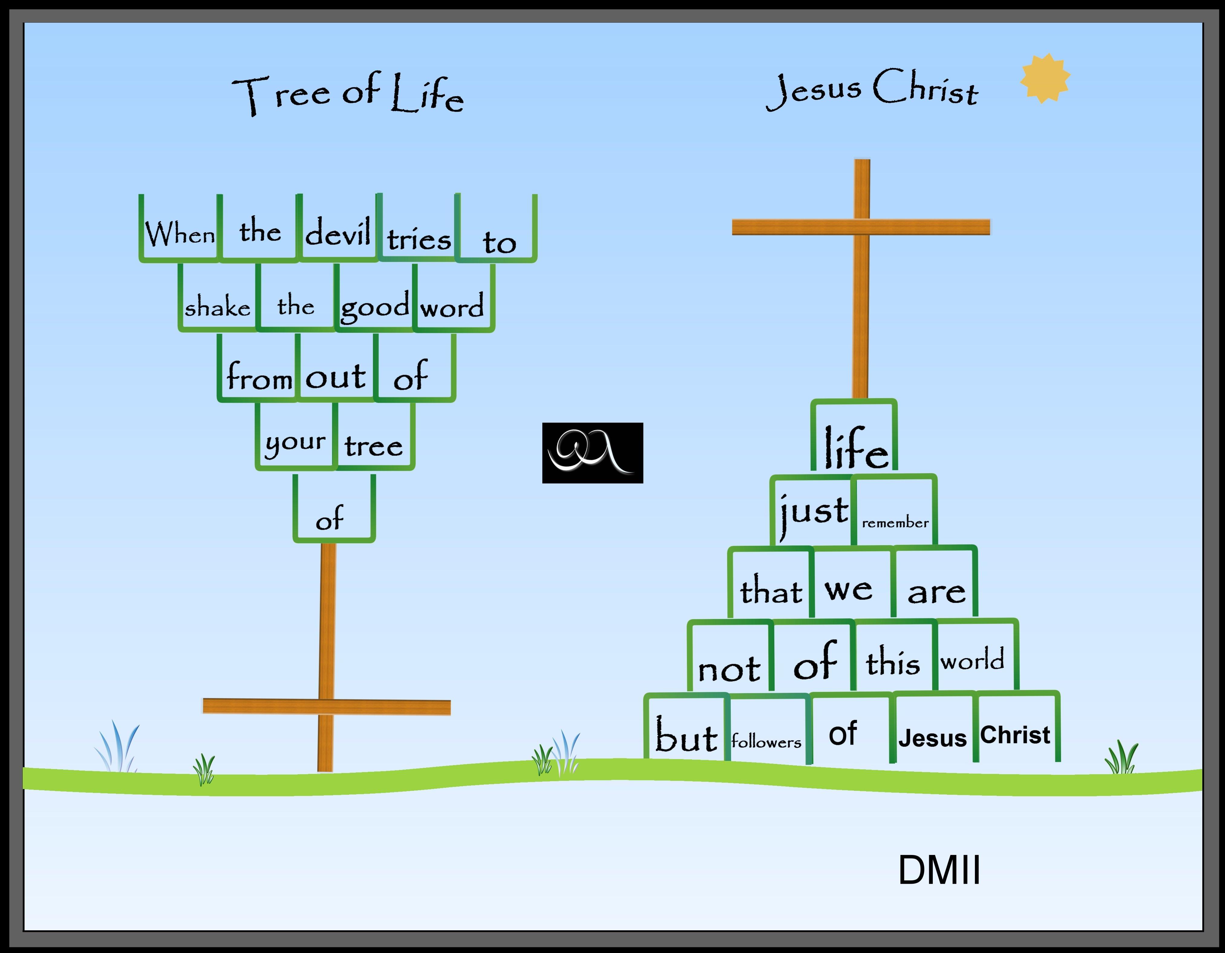 Free Tree Of Life Poem And Portrait