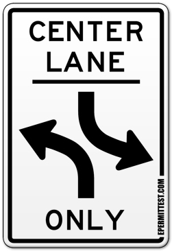 California Road Signs Practice Test