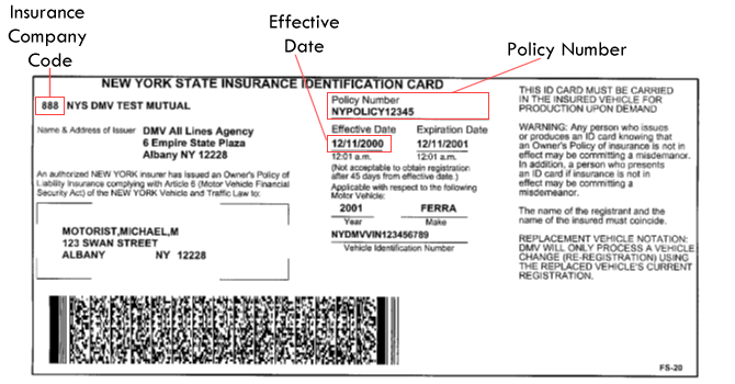 Permalink to State Farm Insurance Card