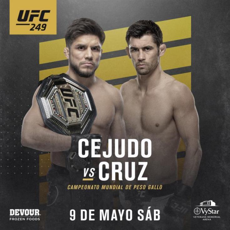 UFC 249 Cejudo vs Cruz Espanol