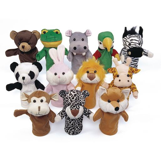 excellerations animal hand puppets