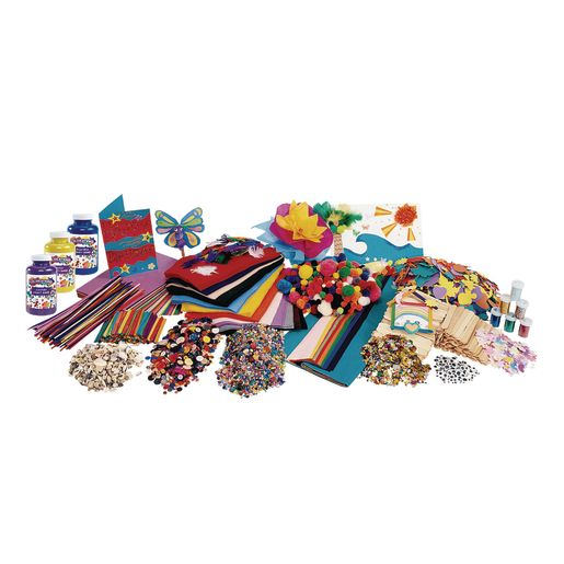 Colorations Mega Craft Kit Craft Supplies Arts Crafts Supplies Arts Crafts All Categories