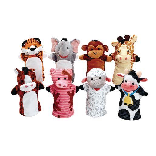 toddler hand puppets set