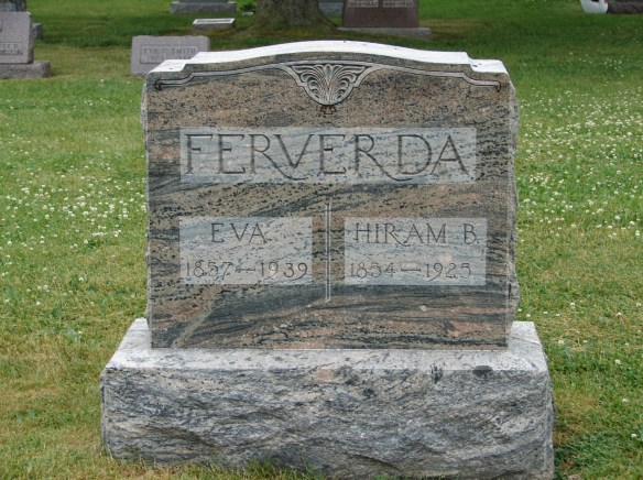 Hiram and Eva Ferverda stone