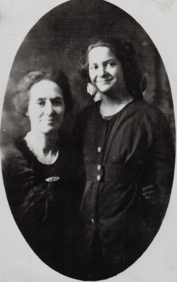 Margaret Estes and mother or grandmother