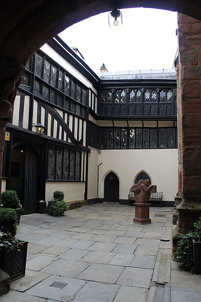 Coventry guild hall piazza